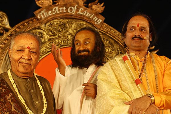Ronumajumdar with ravi shankar & hari
