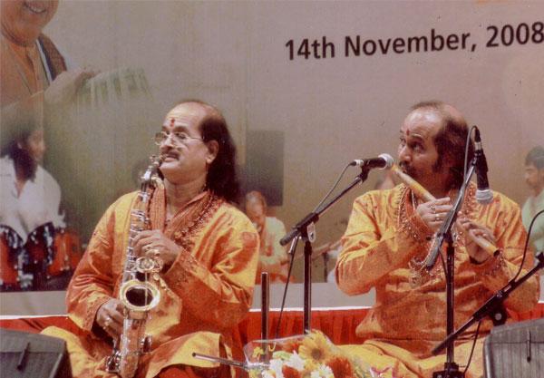 Ronumajumdar with Gopalnathji