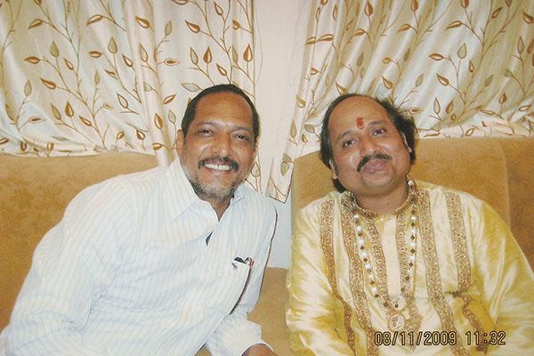 Ronumajumdar with nana patekar