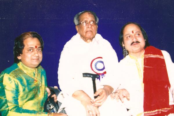 Ronumajumdar with bhimson joshi