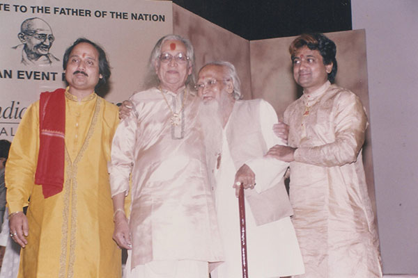 Ronumajumdar with kisan,bhanu and prasad