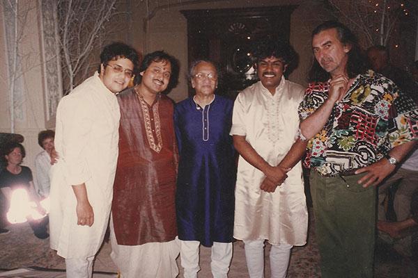 ronu majumdar with ravi shankar