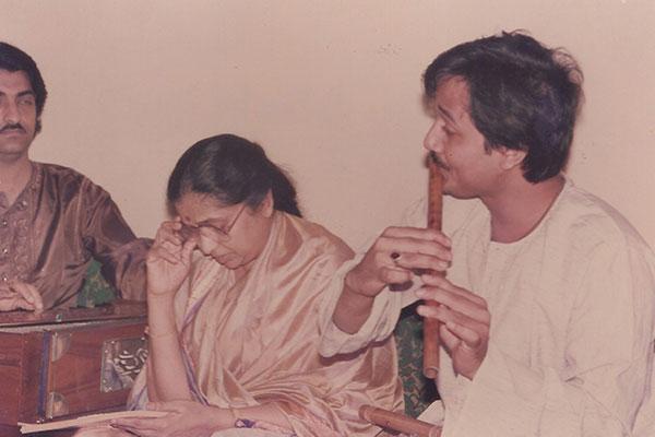 Asha Bosle & Ashit Desai