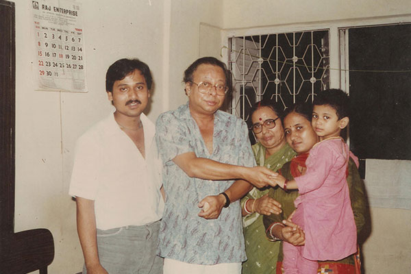 With Shri Rahul Dev Burman