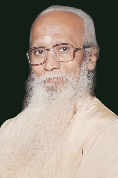 Father and Guru Dr Bhanu Majumdar