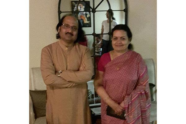 With Guru Maa