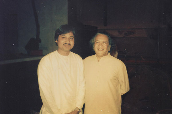 with Guru Pt. Ravi Shankerji