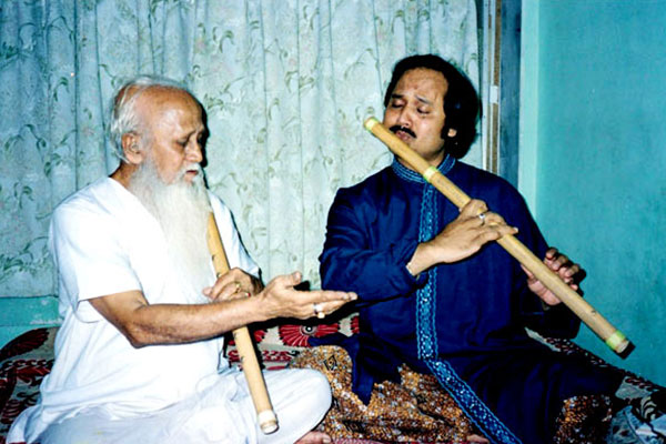 with Father & Guru Dr. Bhanu Majumdar