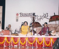 Performance at Banaras Utsav 2003