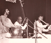 Performing with Kumar Bose in Calcutta
