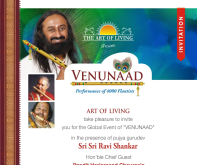 VenuNaad Nasik Invitation