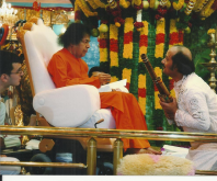 with Spiritual Guru Shri Satya Sai Baba (3)