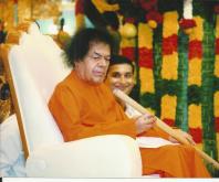 with Spiritual Guru Shri Satya Sai Baba (2)