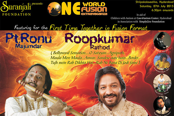 Ronu Majumdar with Roopkumar Rathod